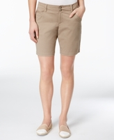 Lee Platinum Lee Platinum Petite Chino Bermuda Shorts, A Macy's Exclusive