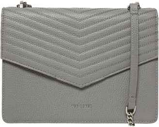 Ted Baker Beckeey Quilted Leather Crossbody Bag