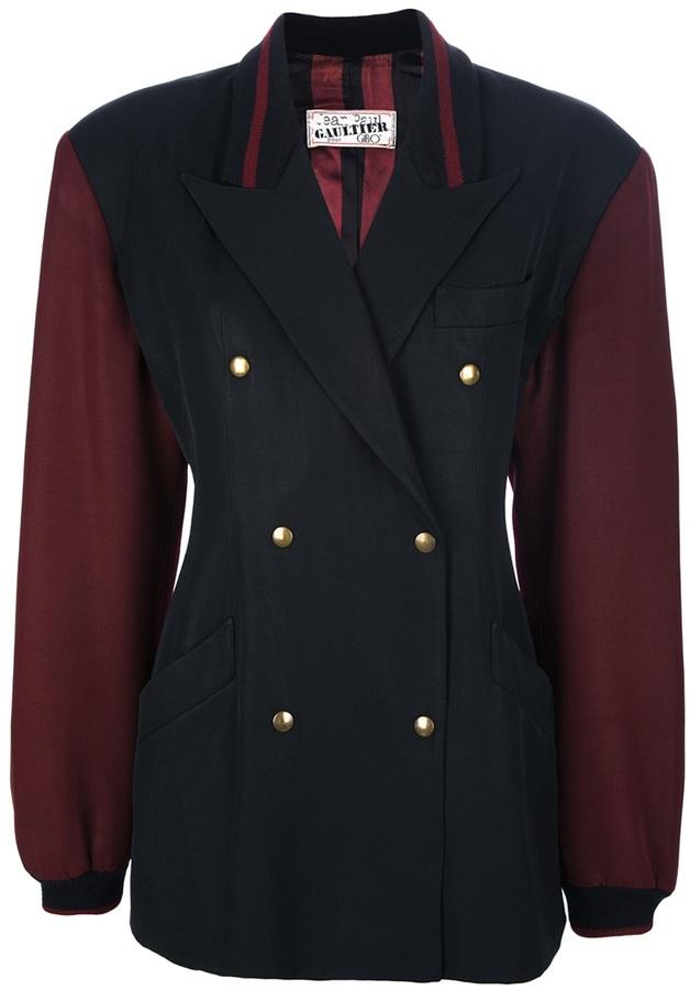 Jean Paul Gaultier Vintage double breasted jacket
