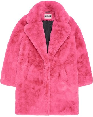 Apparis Sasha faux-shearling coat