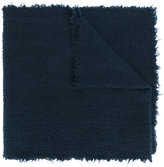 Faliero Sarti raw edge scarf - men - Nylon/Cashmere/Virgin Wool - One Size