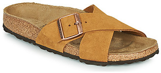 Birkenstock SIENA LEATHER women's Mules / Casual Shoes in Brown