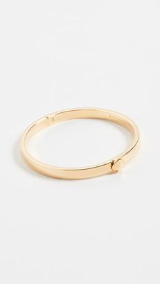 Kate Spade Thin Metal Spade Bangle Bracelet
