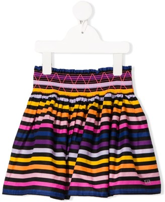 Sonia Rykiel Enfant Stripe Print Skirt