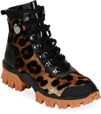 Moncler Helis Stivale Leopard Boots