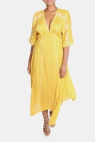En Creme Boho Yellow Dress