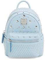 MCM 'X Mini Stark - Bebe Boo' Studded Leather Backpack - Black