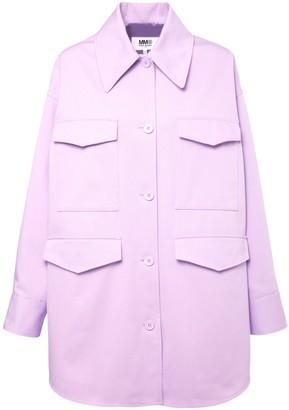 MM6 MAISON MARGIELA Oversized Cotton Denim Jacket