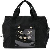 Charlotte Olympia Cat gym bag