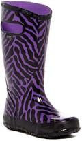 Bogs Zebra Waterproof Rain Boot (Toddler, Little Kid, & Big Kid)