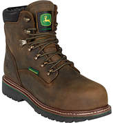 "John Deere Men's Boots 6"" Waterproof Lace-Up Steel Toe 6982 Boot Boots"