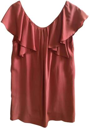 Gat Rimon Pink Silk Dress for Women
