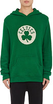 The Elder Statesman X NBA Men's Boston Celtics Logo Cashmere Hoodie