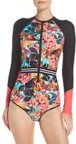 Body Glove Women's Wonderland Rashguard Swimsuit