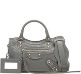Balenciaga Holiday Collection Classic Metallic Edge Mini City