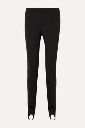 MONCLER GRENOBLE Stretch-twill Stirrup Ski Pants - Black