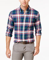 John Ashford Men's Long-Sleeve Flannel Shirt, Only at Macy's