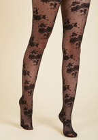 ModCloth Penny Fleur Your Dots Tights