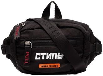 Heron Preston CTNMB print belt bag