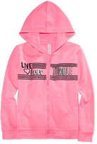 Ideology Live, Love, Tumble Graphic-Print Hoodie, Big Girls (7-16), Only at Macy's