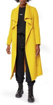 Mackage Mai Long Wool Wrap Coat