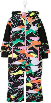 Stella McCartney Landscape Print Snowsuit