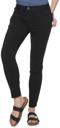 So Juniors' Low Rise Skinny Jeans