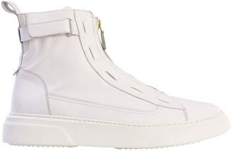 Kurt Lincoln Phantom White High Top Sneakers