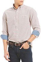 Daniel Cremieux Check Oxford Long-Sleeve Woven Shirt
