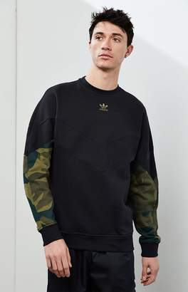 adidas Camo Crew Neck Sweater