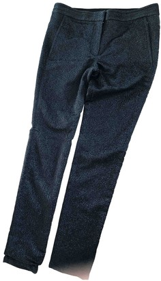 Alexander Wang Metallic Polyester Trousers