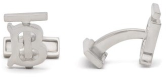 Burberry Tb Cufflinks - Mens - Silver