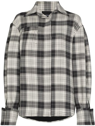 Anouki Check-Print Long-Sleeve Shirt