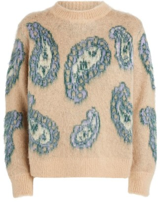 Sandro Paisley Sweater
