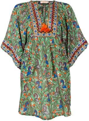 Tory Burch printed beach tunic