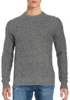 Black Brown 1826 Cable Knit Cashmere Sweater
