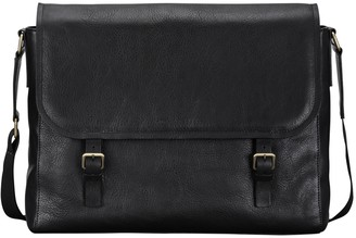 Maxwell Scott Bags Finely Crafted Black Leather Men S Satchel Bag
