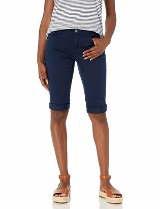 Chaps Women's Petite Stretch Twill Short