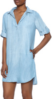 Elan Denim Shirt Dress