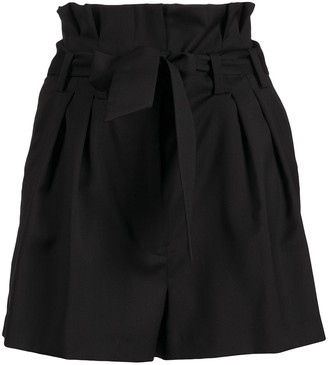 IRO Eleani high-rise pleated shorts