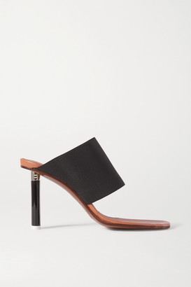 Vetements Stretch-canvas Mules - Black