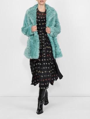 Sonia Rykiel Mimosa Print Georgette Dress