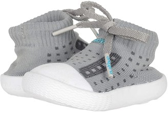 Native Jefferson (Infant/Toddler) (Pigeon Grey/Shell White) Kids Shoes