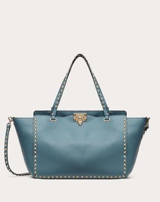 Valentino Medium Rockstud Grainy Calfskin Bag Women Amadeus 100% Pelle Di Vitello - Bos Taurus OneSize