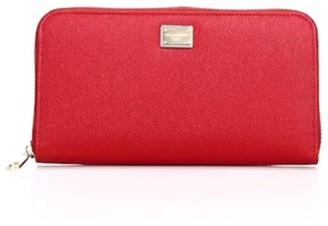 Dolce & Gabbana Zip-Around Leather Wallet
