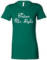 Go All Out Screenprinting Juniors Future Mrs. Styles One Direction 1D Harry T-Shirt