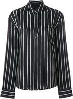 Haider Ackermann striped long sleeve shirt