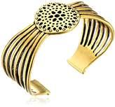Lucky Brand Gold Openwork Cuff Bracelet