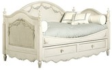 The Well Appointed House Charlotte Day Bed with Trundle in Versailles Cream