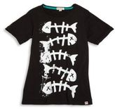 Appaman Toddler's, Little Boy's and Boy's Fish Bone Graphic Cotton Tee